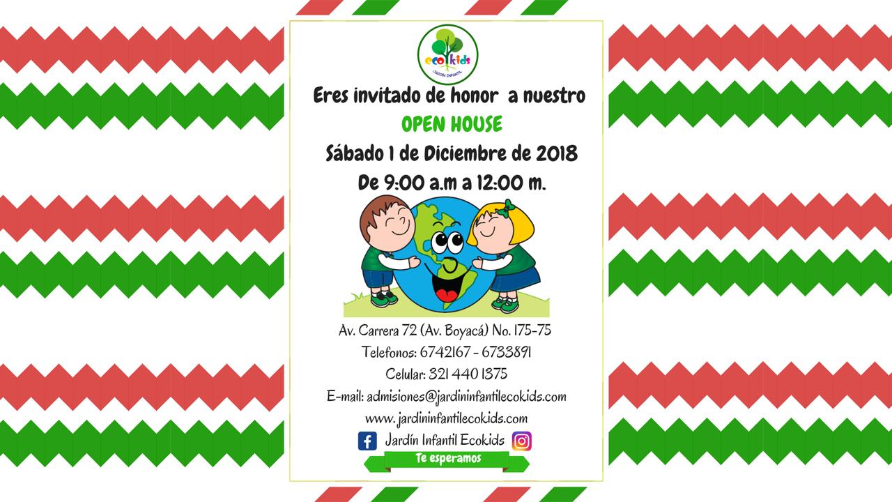 Open House del Jardín Infantil Ecokids