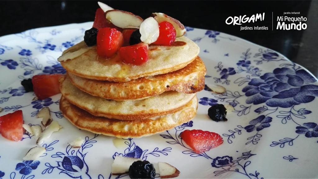 En diciembre los invitamos a preparar deliciosos pancakes con el Jardín Infantil Mi Pequeño Mundo Origami
