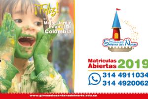 Feliz, en el mejor jardín infantil de Colombia – Gimnasio Santana del Norte
