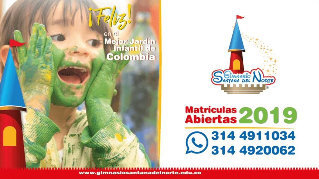Feliz, en el mejor jardín infantil de Colombia - Gimnasio Santana del Norte