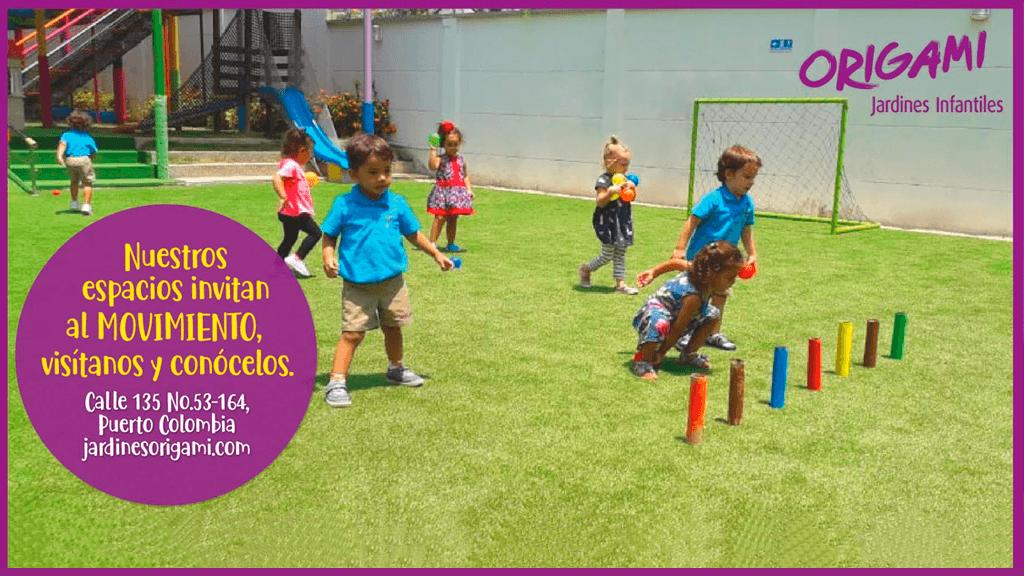Espacios que invitan al movimiento - Origami Jardines Infantiles (Barranquilla)