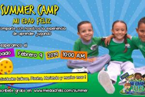 Summer Camp de Mi Edad Feliz