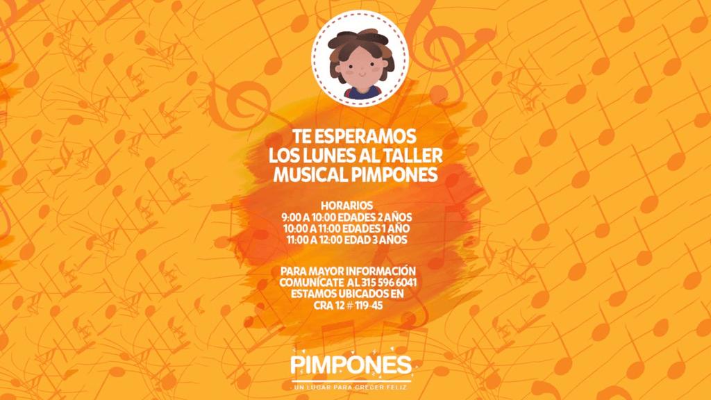 Pimpones Centro de Desarrollo Infantil Santa Bárbara (Bogotá) - Taller Musical Pimpones