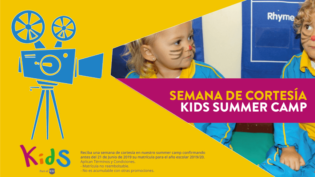 El programa vacacional de Kids está abierto a todos los niños de 1 a 5 años - KSI Kids