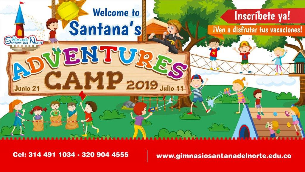 Campamento de Aventuras Santanista