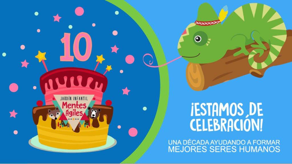 celebración-decimo-año-jardín-infantil-mentes-ágiles