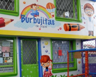 Burbujitas de Papel Jardín Infantil (Bogotá)