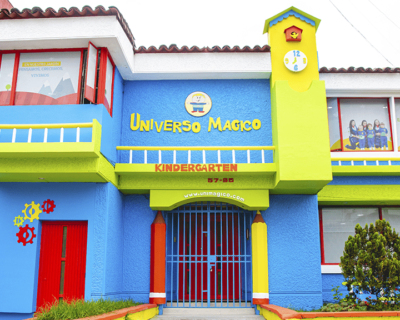 Universo Mágico Jardín infantil – Sede Nicolás de Federmán (Bogotá)