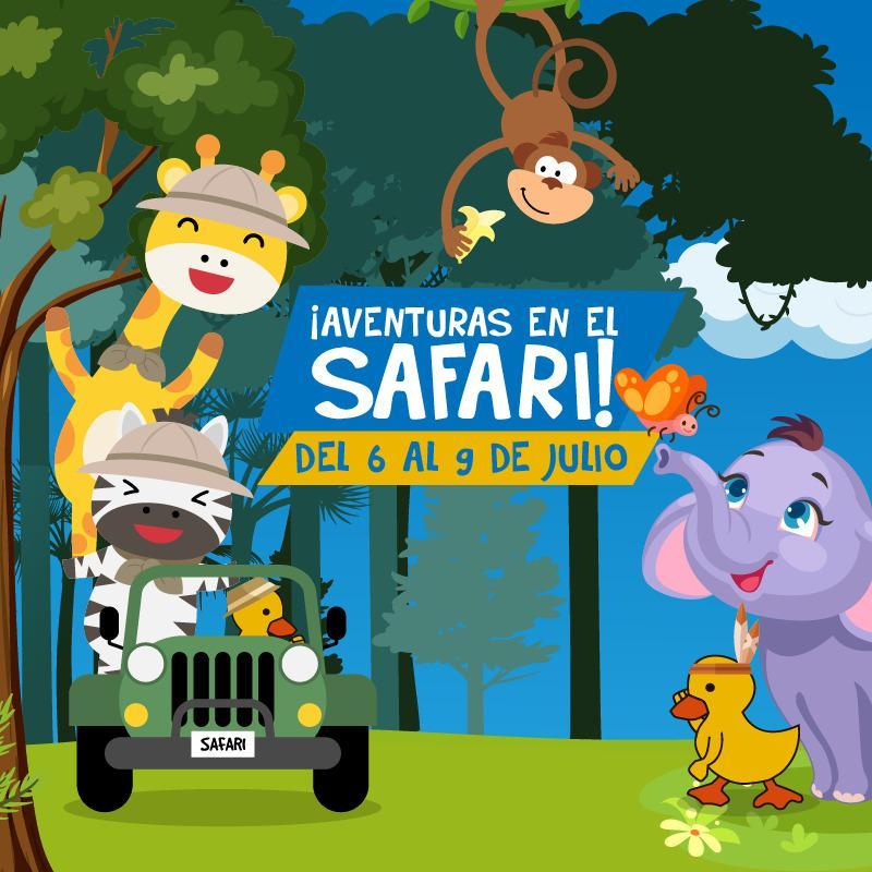 aventuras en el safari con el jardin Mi Pato Cua Cua