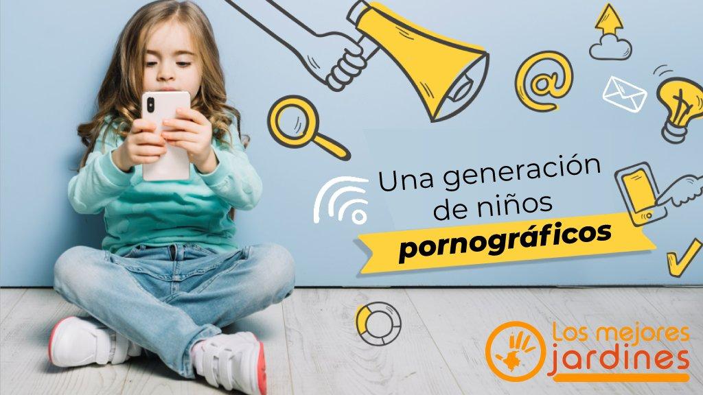 Generación de niños pornográficos
