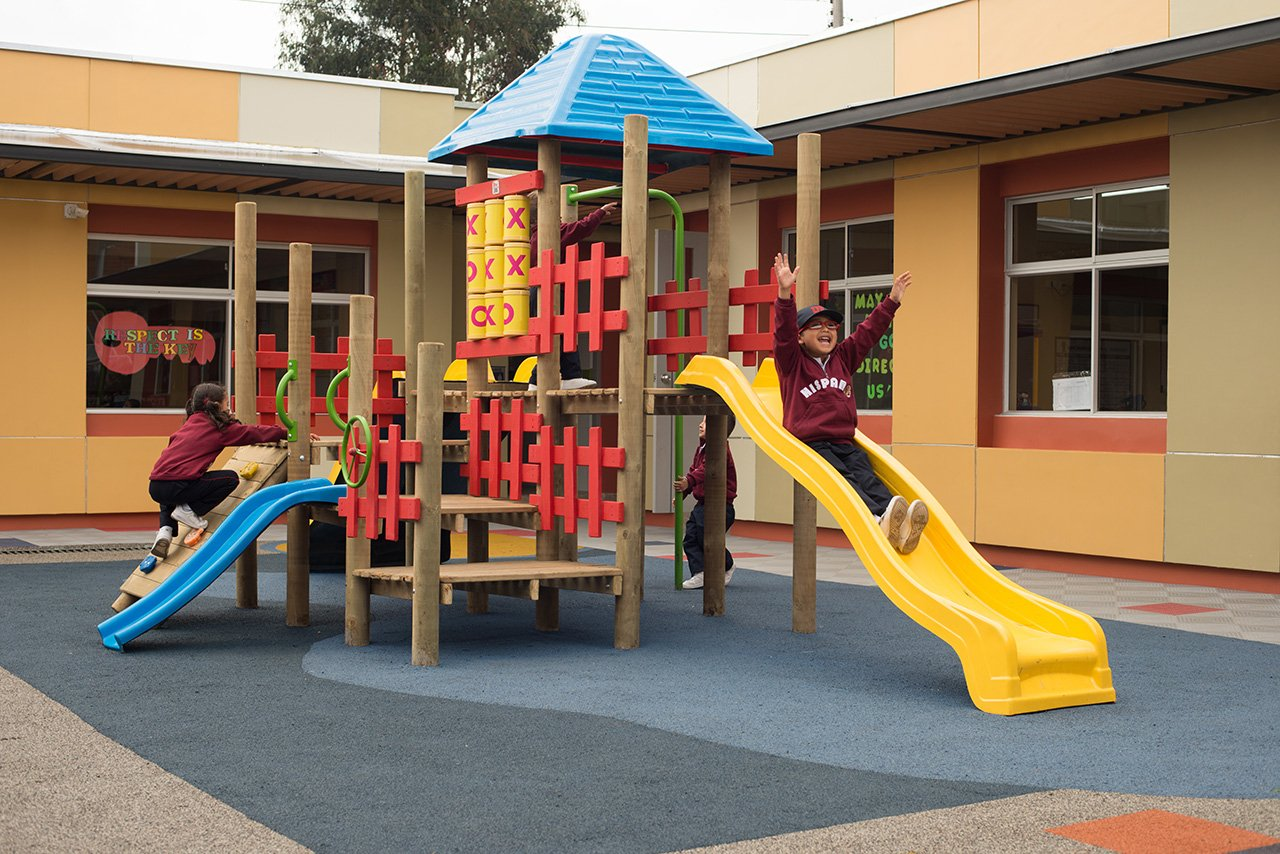 Parque del Colegio Bilingue Hispanoamericano Conde Ansurez