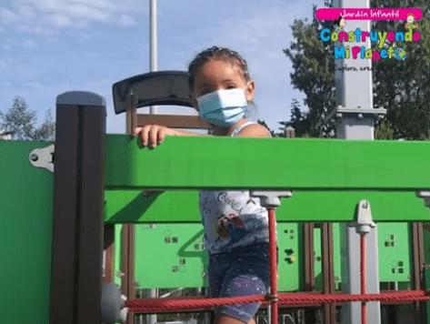 Jardin infantil construyendo mi planeta