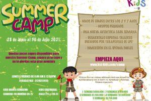 2021 KIDS SUMMER ADVENTURE CAMP FLYER _JUNE ES
