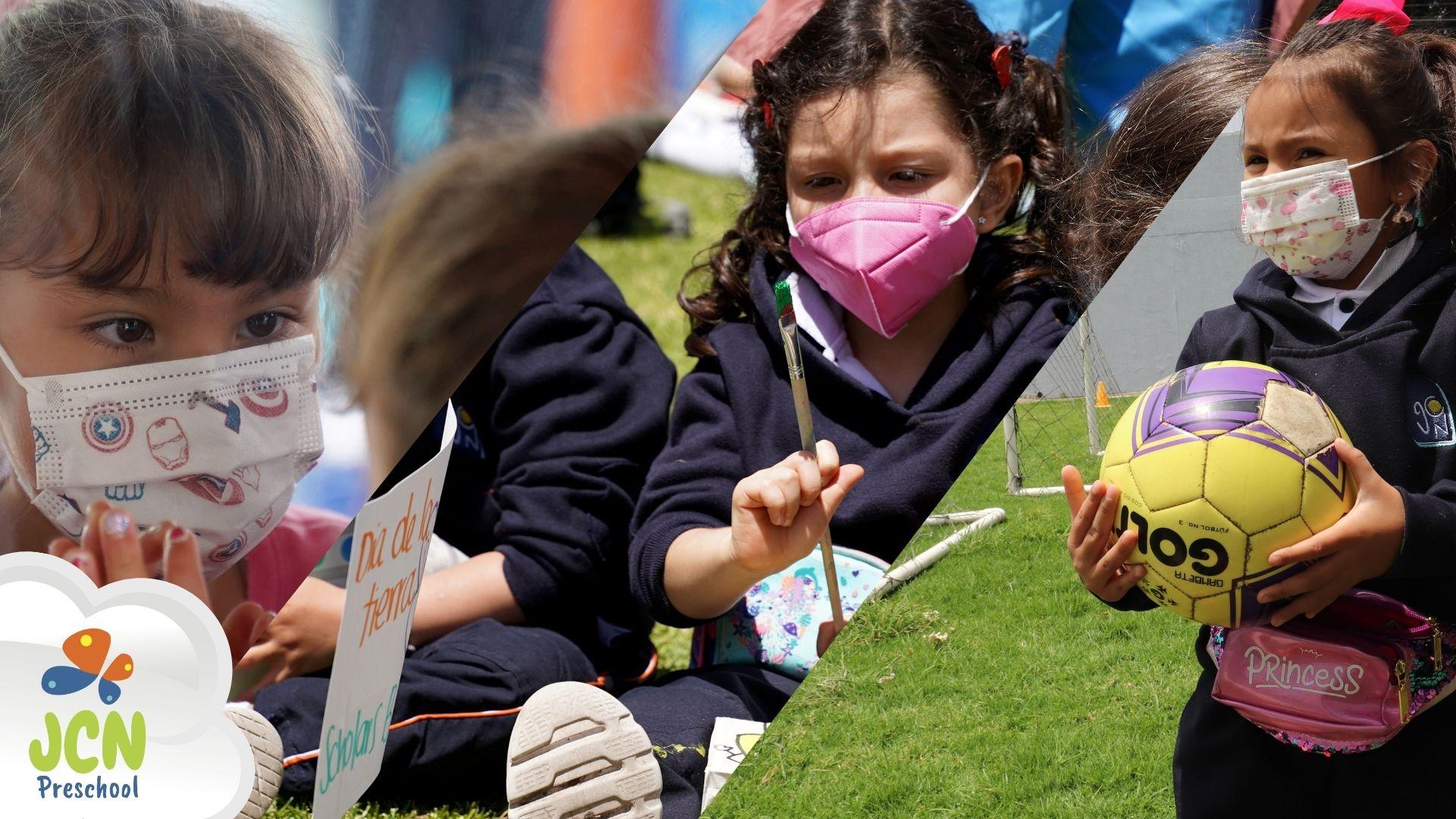 Cuerpo en Movimiento en los niños del jardín